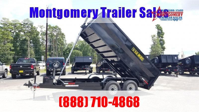 U.S. Built 7X16X3 DUMP TRAILER BP 16K Dump Trailer