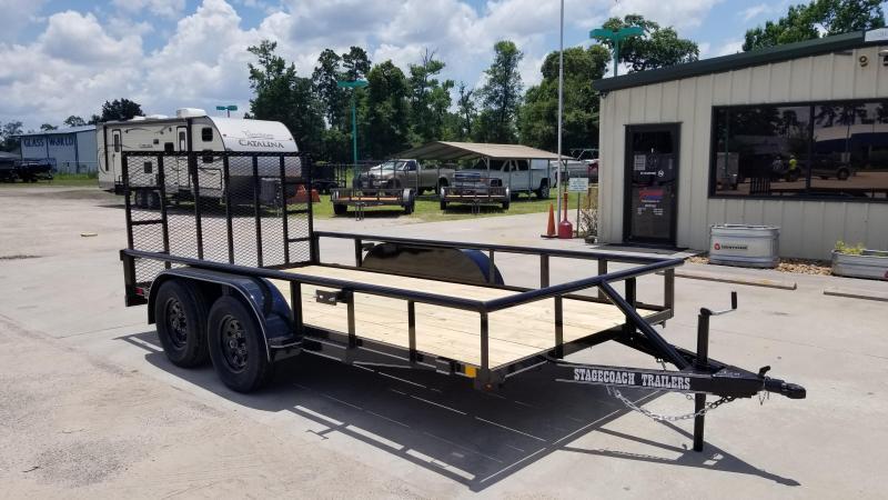 2020 Stagecoach SC77X14TA Utility Trailer