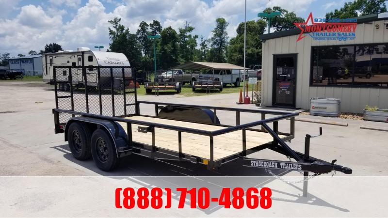 2021 Stagecoach SC77X14TA Utility Trailer