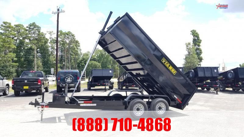 2020 U.S. Built 7X14X3 DUMP TRAILER BP 14K Dump Trailer