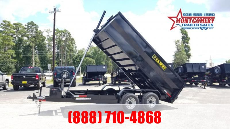 2021 U.S. Built 7X14X3 DUMP TRAILER BP 14K Dump Trailer