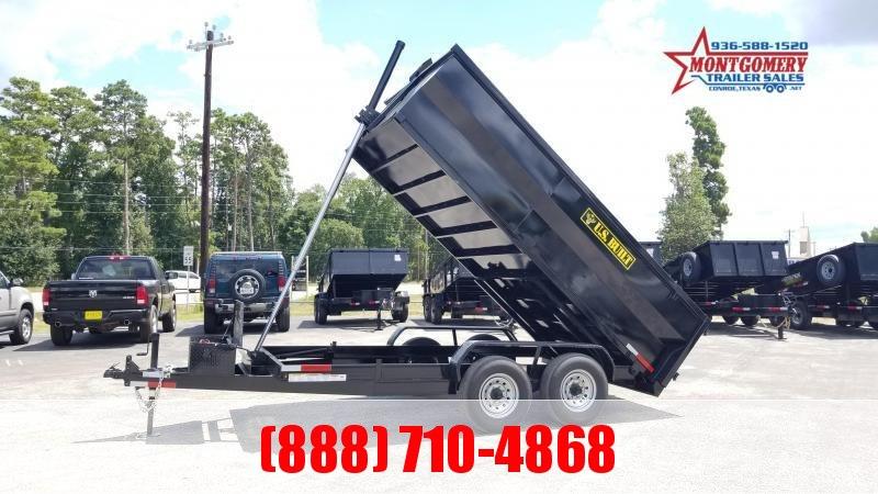 U.S. Built 7X14X3 DUMP TRAILER BP 14K Dump Trailer