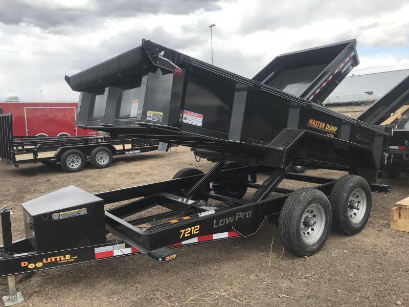 2020 Doolittle Trailer Mfg 7x12 dump Dump Trailer