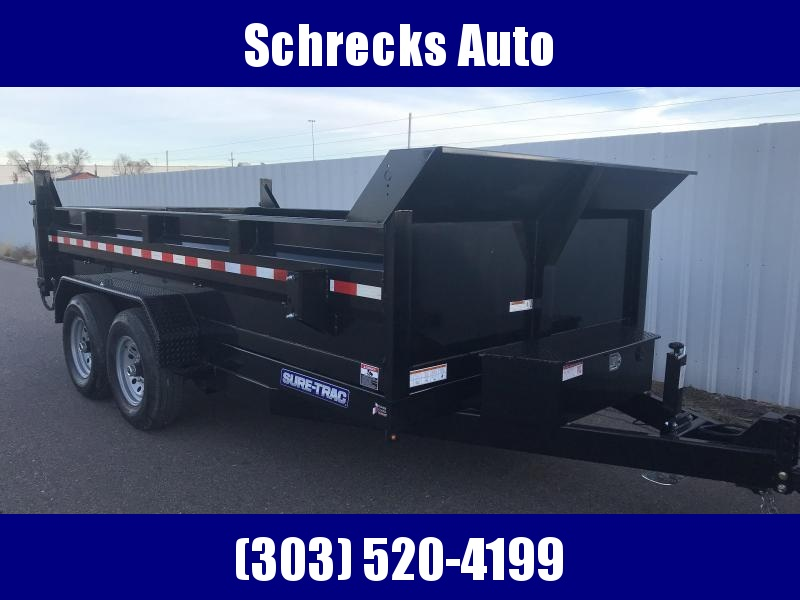 2020 Sure-Trac SD Low Profile Dump Trailer - Scissor