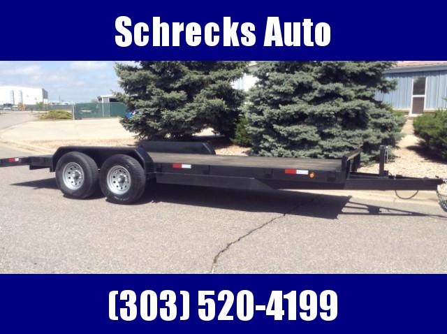2020 Texoma 20' Car Hauler 10K Trailer