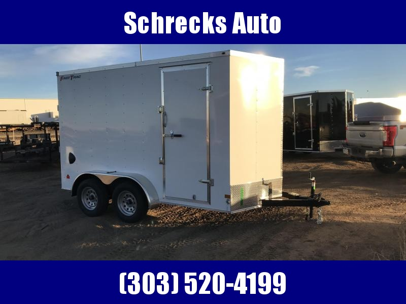 2021 7x12 tandem Wells Cargo Fast Trac Enclosed Cargo Trailer