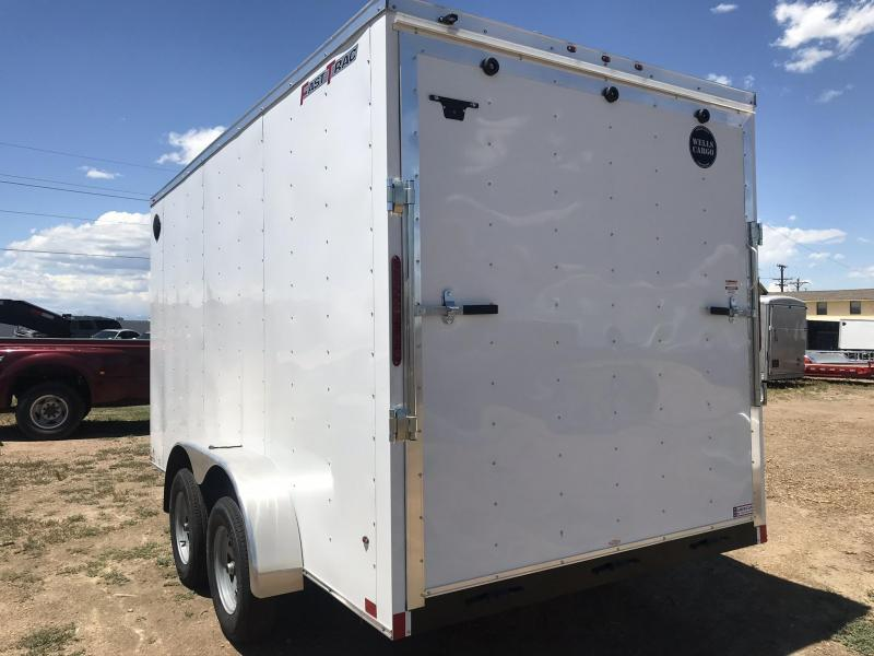2021 7 x 16  Wells Cargo Fast Trac Enclosed Cargo Trailer