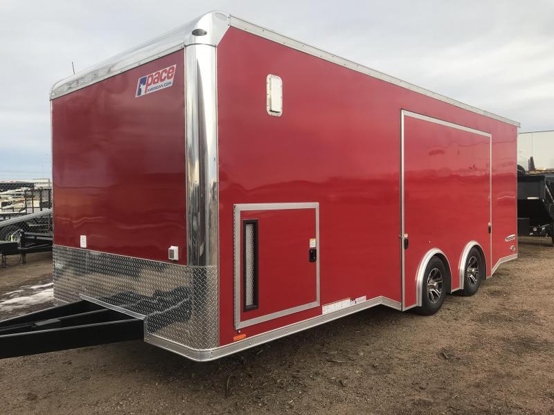 2020 Pace American Pursuit Enclosed Cargo Trailer