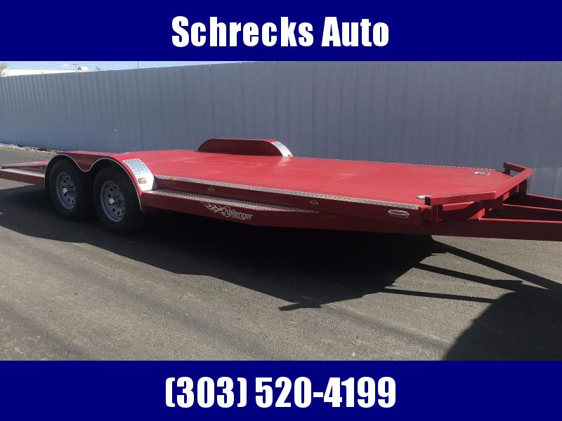 2021 102 Ironworks Challenger 20' SF Flatbed Trailer