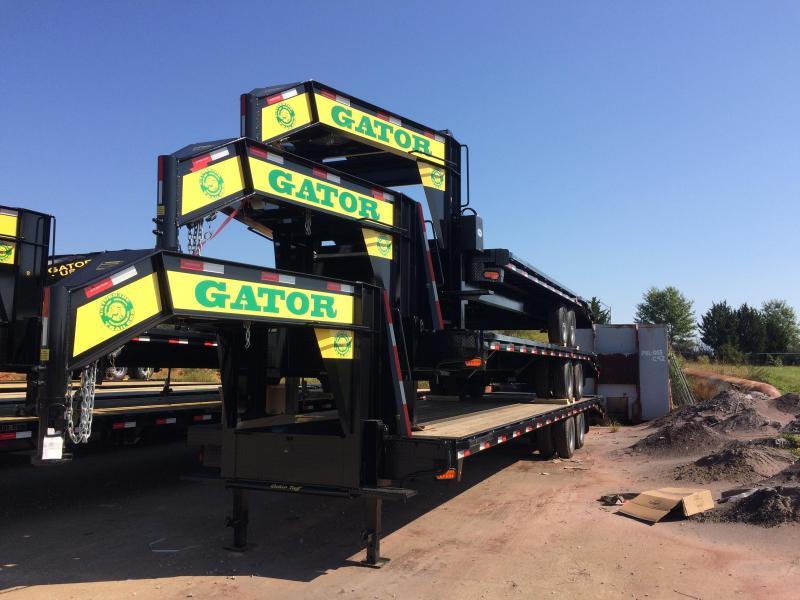 2022 Gatormade Trailers 30 Foot Gooseneck Equipment Trailer