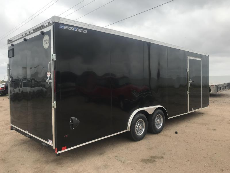 2020 Wells Cargo Road Force V Nose Enclosed Cargo Trailer