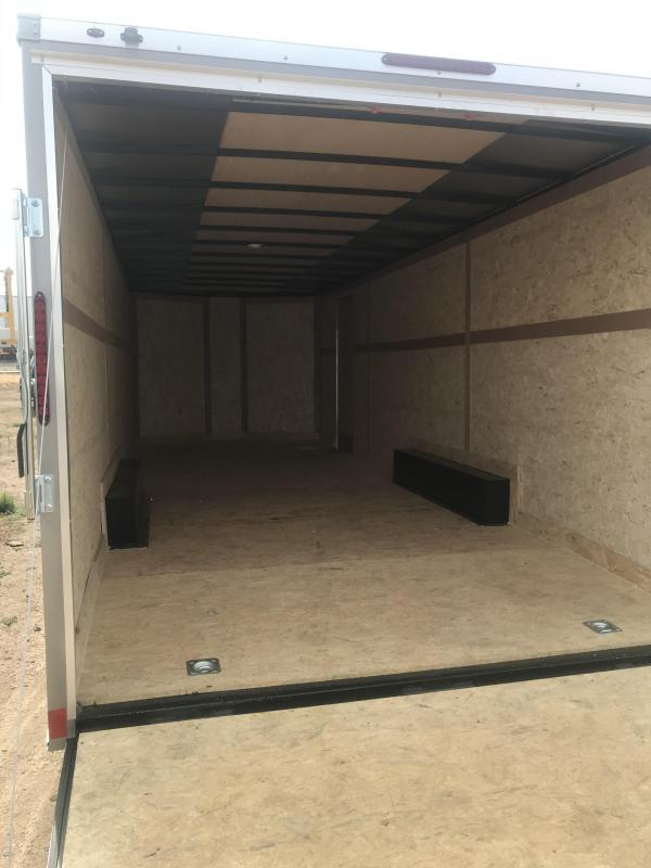 2021 7x16  Wells Cargo Fast Trac Enclosed Cargo Trailer