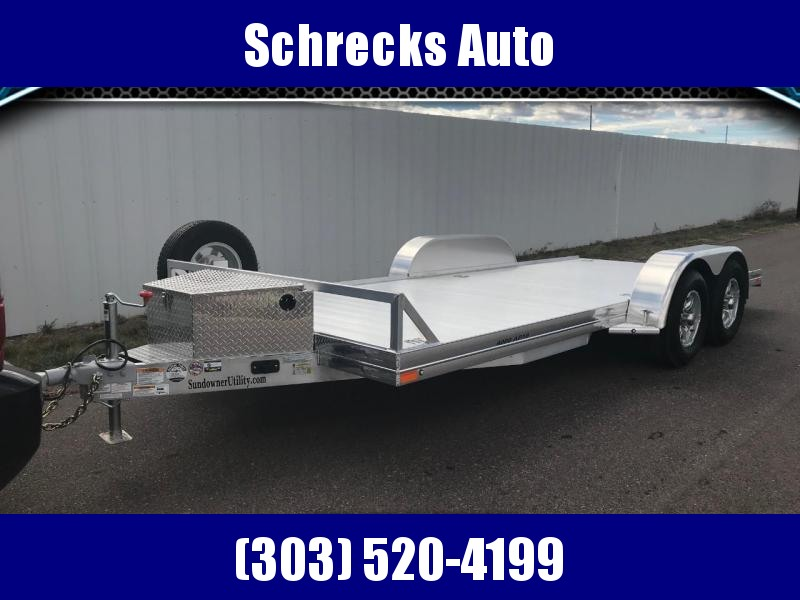 2021 Sundowner AP4000 18' All Purpose Car Hauler Trailer
