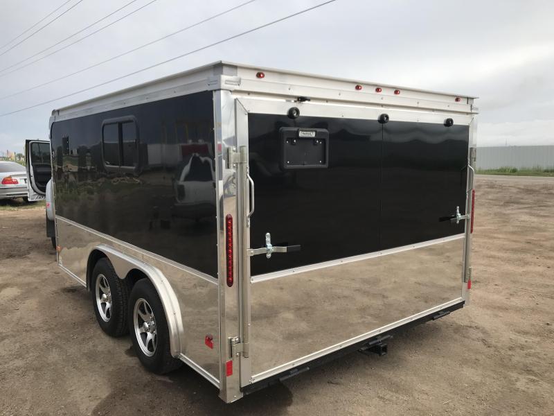 2015 Haulmark 8.5 x 12 M/C Enclosed Cargo Trailer