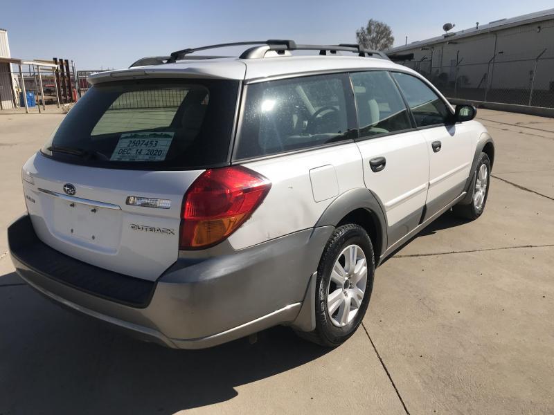 2005 Subaru Outback Car