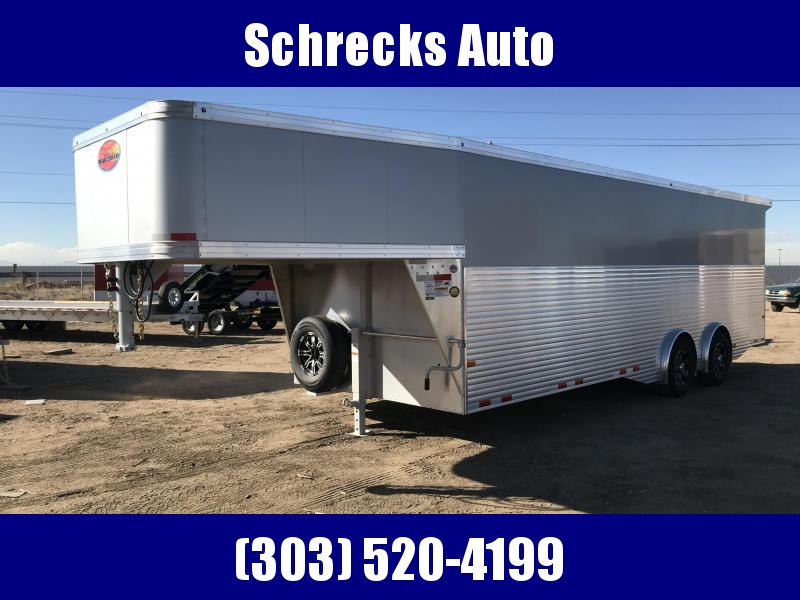 2021 Sundowner Trailers Gooseneck 24 foot cargo All Aluminum Enclosed Cargo Trailer