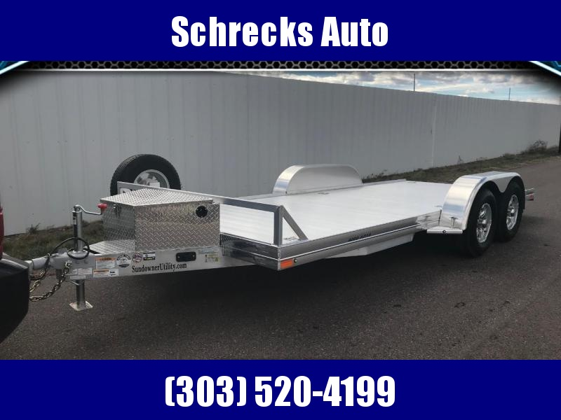 2021 Sundowner AP4000 16' All Purpose Car Hauler Trailer