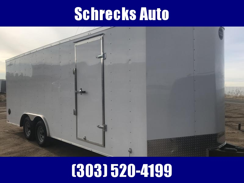 2021 Wells Cargo 8.5 x 20 Enclosed Cargo Trailer