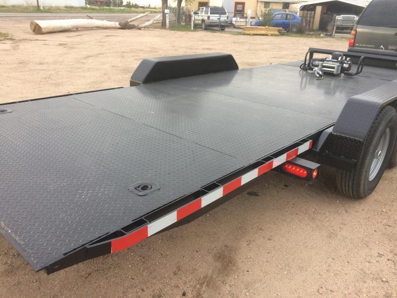 2020 Texoma 20' Tilt Car Hauler 7K Trailer