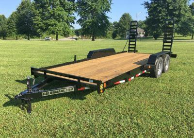 2021 Gatormade Trailers 20 Foot Equipment Trailer