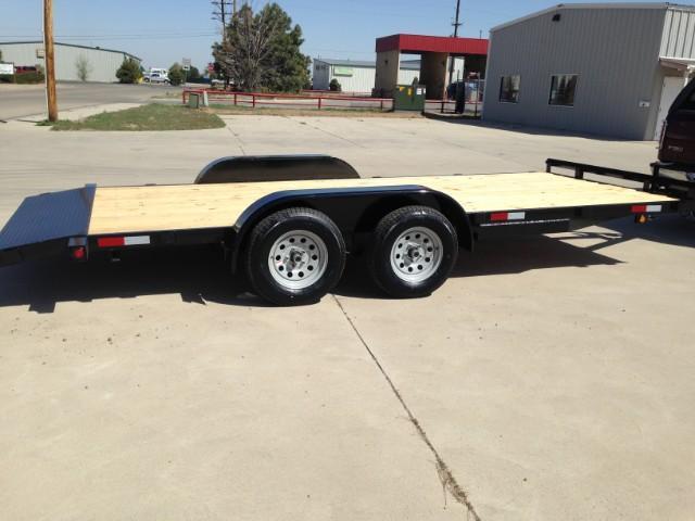 2020 Texoma 18 ft Car Hauler 7K Trailer