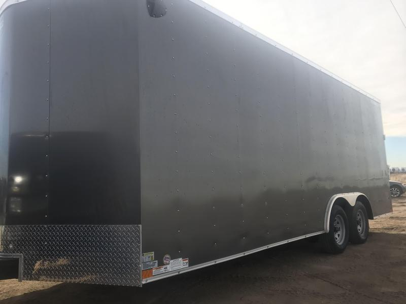 2021 Wells Cargo 8.5 x 24 deluxe Enclosed Cargo Trailer