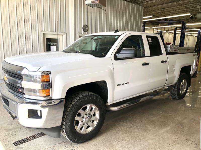 2015 Chevrolet 2500HD Double Cab Silverado 2500