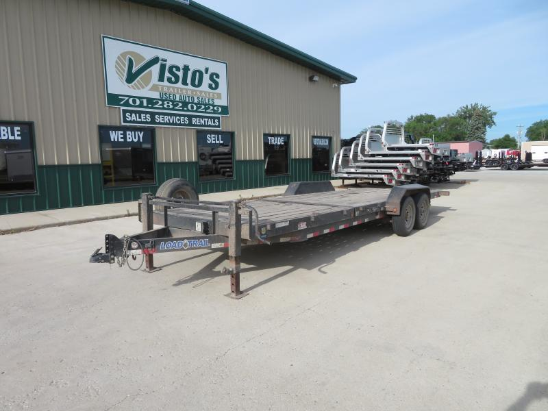 2013 Load Trail 81''X24' Tilt Deck Trailer TD812414K