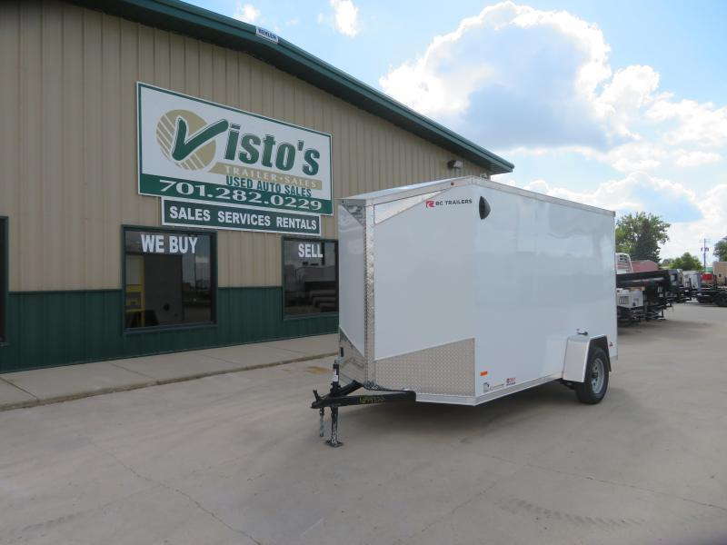 2021 Rc Trailers 6'X12' Enclosed Trailer RDLX612
