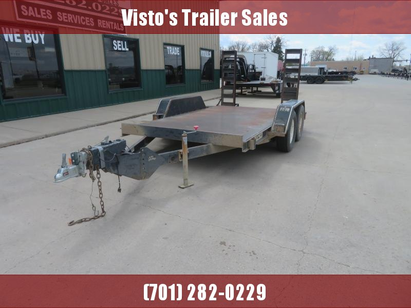 1998 Felling 77''X12' Equipment Trailer 77''X12' Equipment Trailer