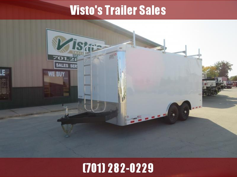 2021 Bravo 8.5'X16' Enclosed Trailer ST851610K