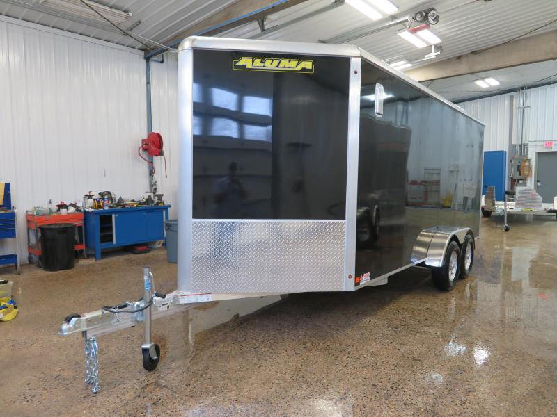2021 Aluma 7'X16' Enclosed Trailer AE7167K