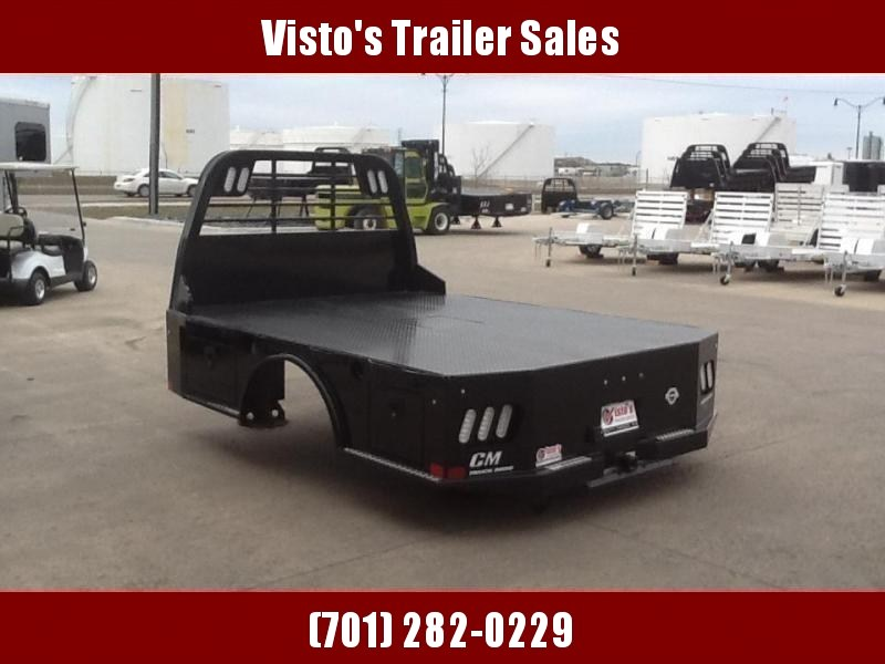 """CM SK 84""""X84"""" CTA 40""""/42"""" Steel Truck Bed Skirted 2 Boxes Per Side"""