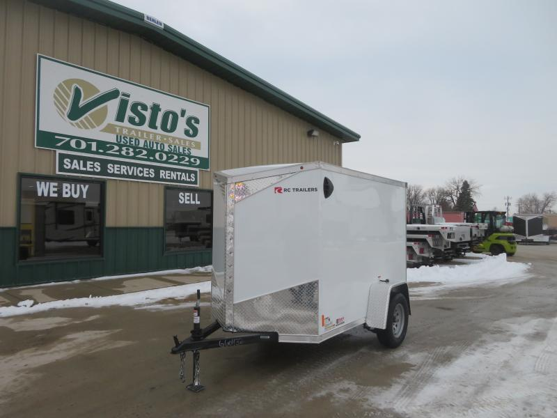 2021 Rc Trailers 5'X8' Enclosed Trailer RDLX58