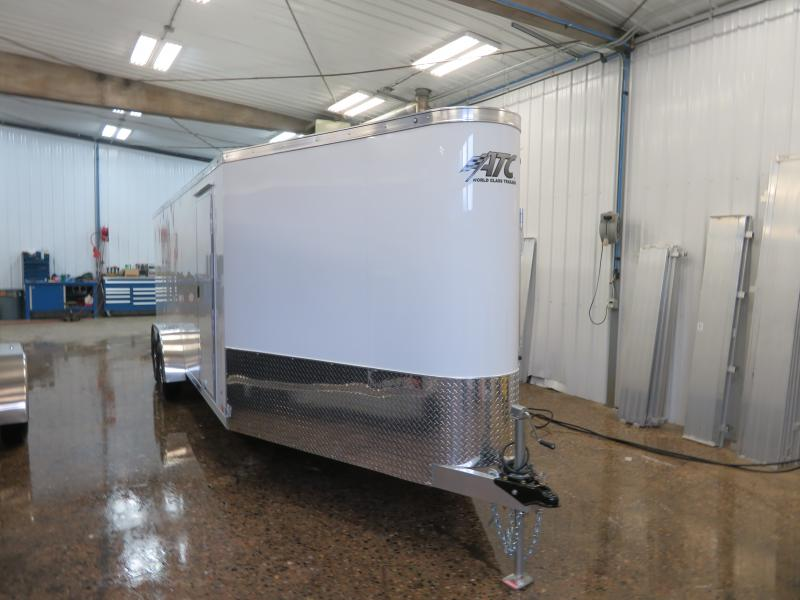 2020 ATC 7'X20'+6' Enclosed Snowmobile Trailer RAVAB720+67K