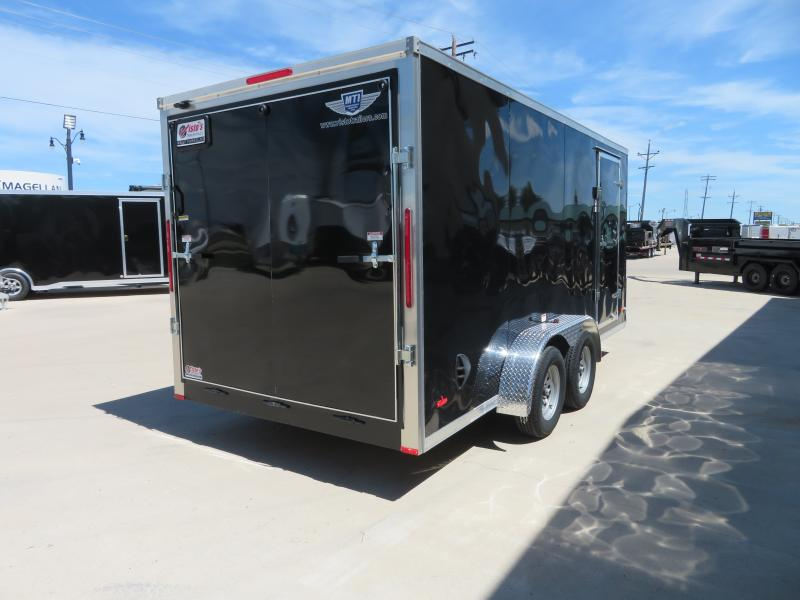 2020 MTI 7'X16' Enclosed Trailer MDLX7167K