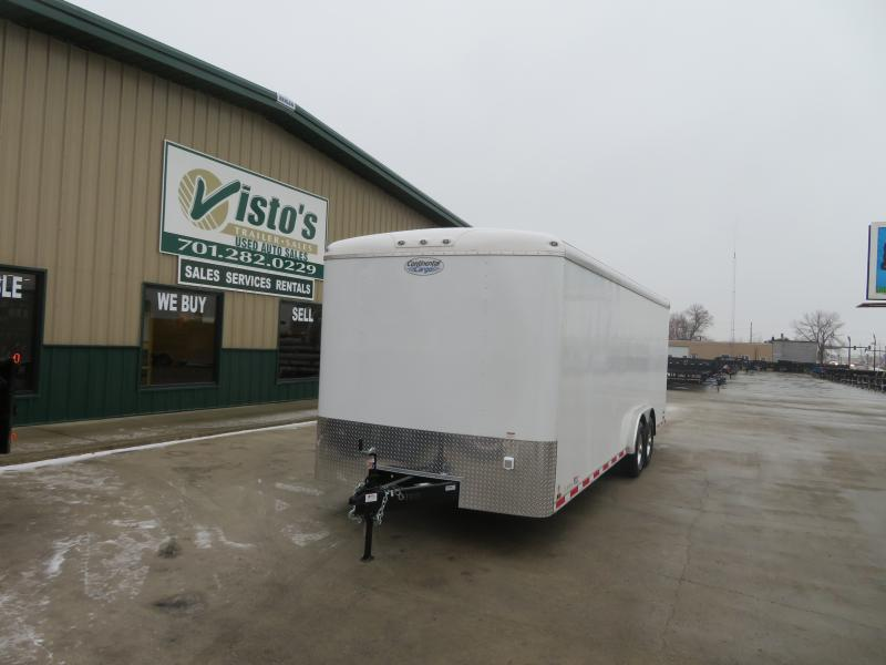 2020 Continental Cargo 8'X24' Enclosed Trailer AP824TA5