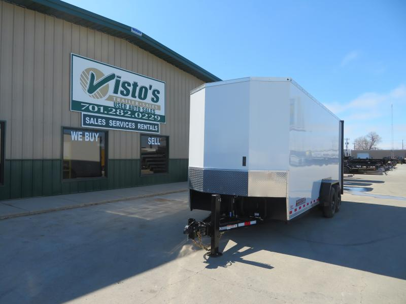 "2020 Midsota 79.5"" X 20' Enclosed Equipment Trailer SLE20"