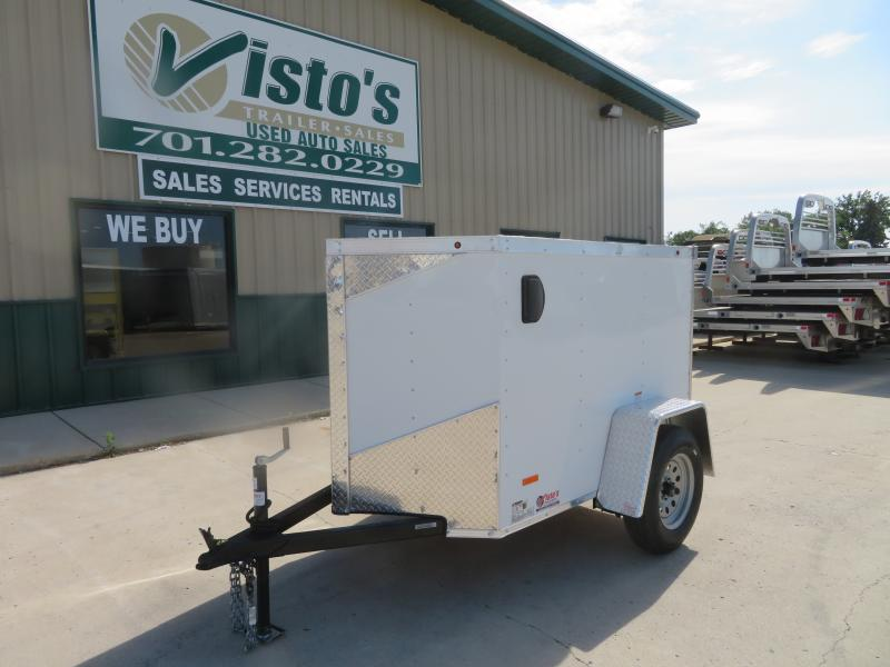 2020 Rc Trailers 4'X6' Enclosed Trailer RWT46