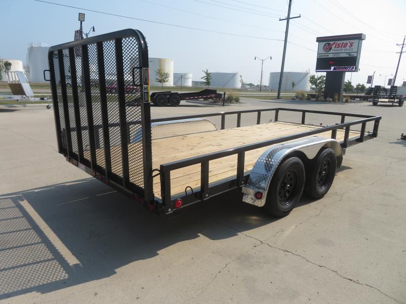 2021 Load Trail 83''X16' Utility Trailer UT83167K