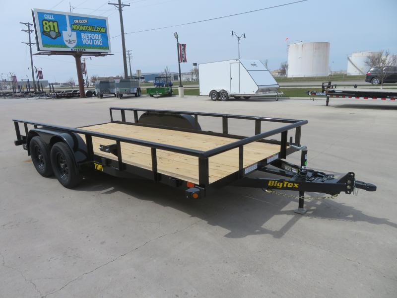 2021 Big Tex 83''X16' Utility Trailer 70PI-16X