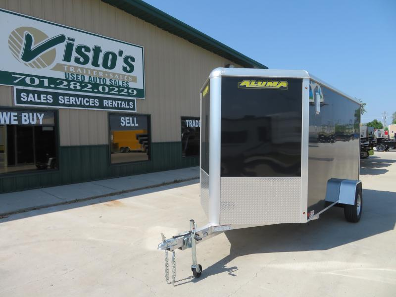 2021 Aluma 6'X12' Enclosed Trailer AE612