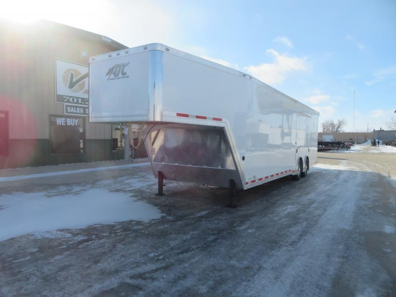 2021 ATC 8.5'X36' Gooseneck Enclosed Trailer QSTAG853614K