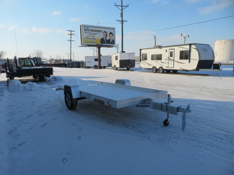2022 Aluma 68''X12' Utility Trailer 6812HTILT