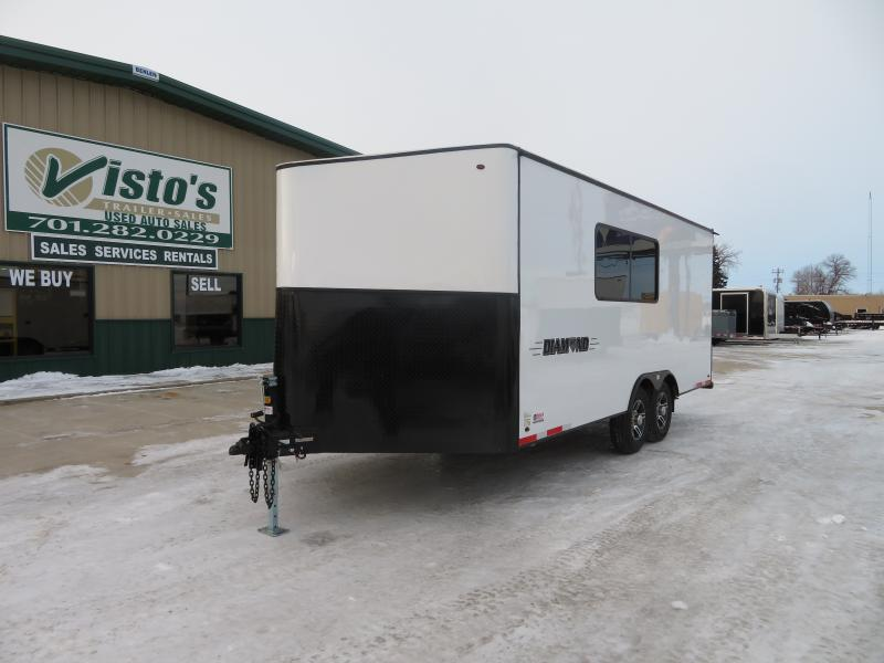 2020 Diamond Components 8.5'X24' Office Trailer 24RE Office Trailer