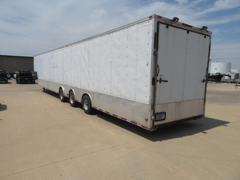 2011 Hurricane Cargo 8.5'x52' Gooseneck Enclosed 8.5'x52' Gooseneck Enclosed