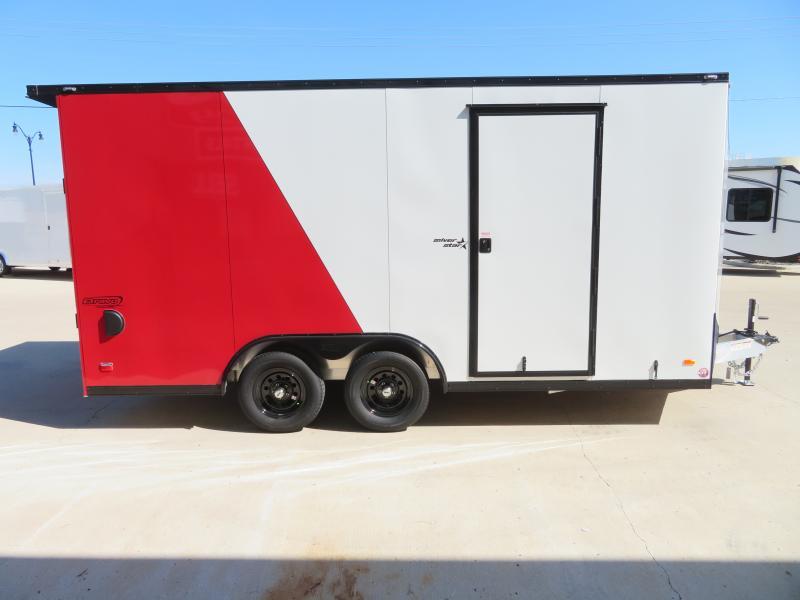 2021 Bravo 8.5'X16' Enclosed Trailer SSAC85167K