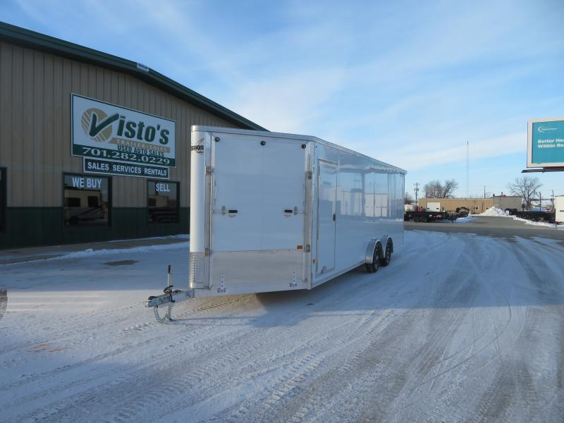 2021 Mission 7.5'X24' Enclosed Snowmobile Trailer MES75247K