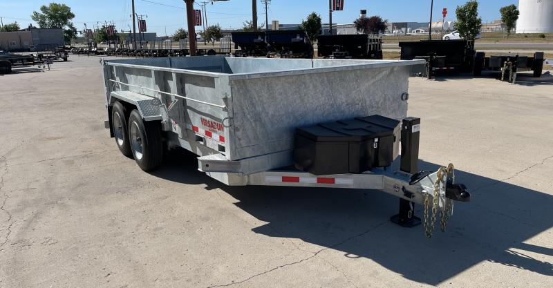 2021 Midsota 82''X14' Dump Trailer HV821416K
