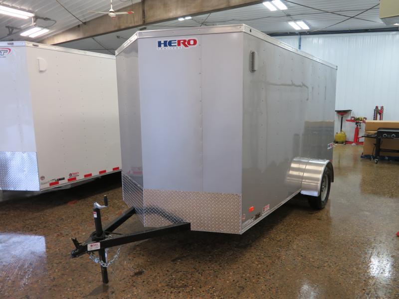 2020 Bravo 6'X12' Enclosed Trailer HR612